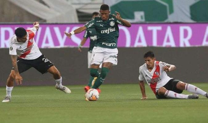 Los brasileños avanzan | Foto: Palmeiras