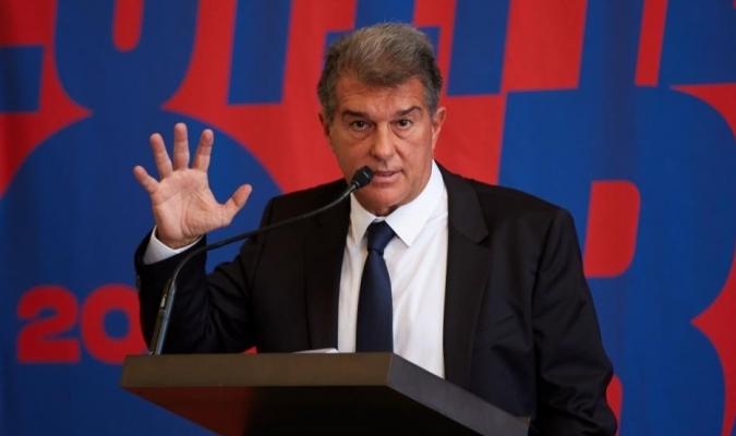 El precandidato a la presidencia del FC Barcelona Joan Laporta/Foto cortesía