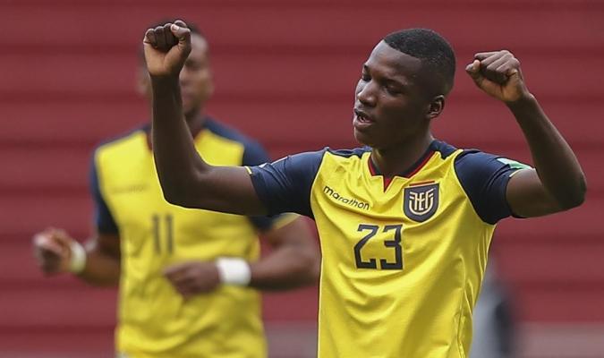 El joven jugador es pieza clave en el buen momento de Ecuador en las clasificatorias al Mundial / Fo