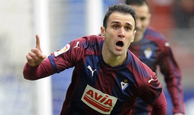 El jugador está teniendo una gran temporada con el Eibar / Foto cortesía