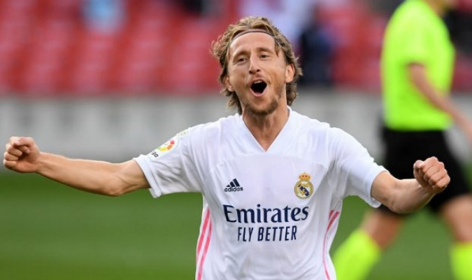 Luka Modric, centrocampista croata del Real Madrid/Foto cortesía