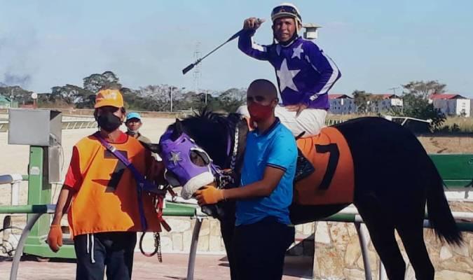 Ganó después de 36 días sin correr / Cortesía Ray Díaz