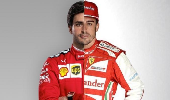 Carlos Sainz es el nuevo piloto de la 'scuderia'