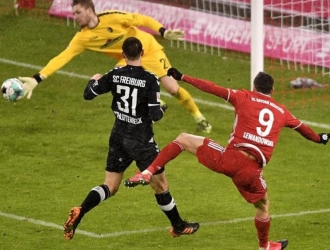 Bayern lo hacía todo para aumentar la ventaja