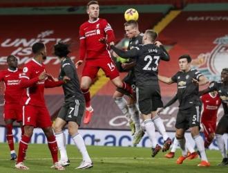La cita de Anfield dejó en evidencia las dificultades del campeón para marcar