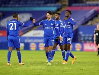 Se coloca líder   Foto: LeicesterFC