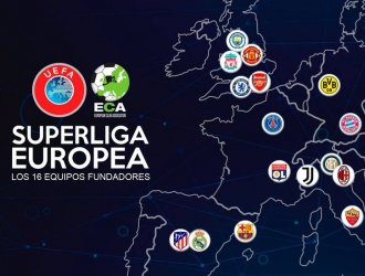 Superliga Europea contaría con 15 equipos fundadores/Foto cortesía