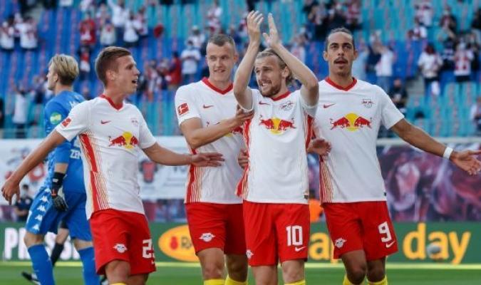 El conjunto del Leipzig no pudo sumar para acercarse a tan solo un punto del Múnich / Foto cortesí