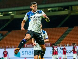 El argentino Romero abrió el marcador| @Atalanta_BC