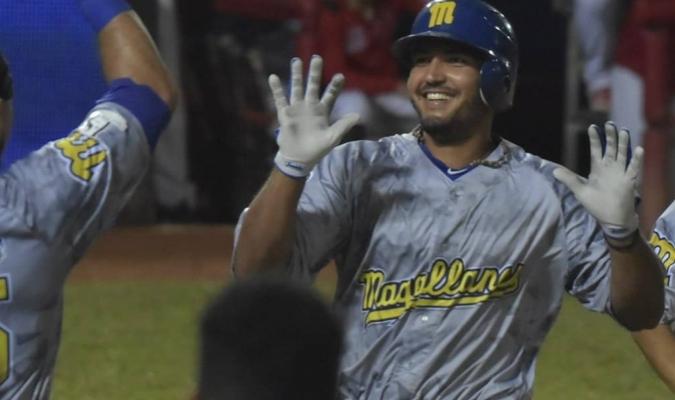 El receptor volvió a promediar .300 en la LVBP| Prensa Magallanes BBC