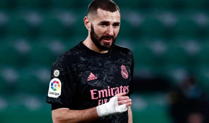 Benzema se suma a la larga lista de lesiones del club/Foto cortesía