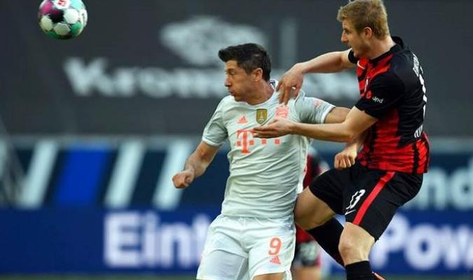 Al Bayern no le alcanzó para el empate y terminó encajando su tercera derrota
