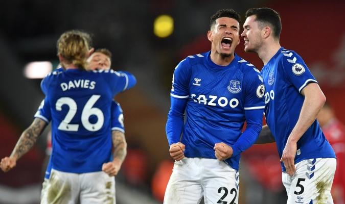Los toffes volvieron a celebrar en el campo rival| @Everton