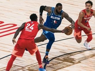 Los capitanes de los equipos serán LeBron James por el Oeste y Kevin Durant será el líder del est