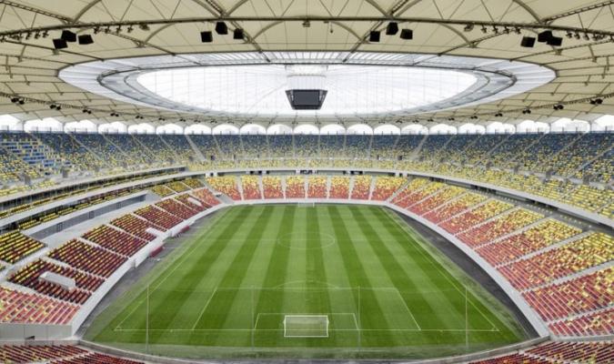 Panorámica del Estadio Nacional de Bucarest