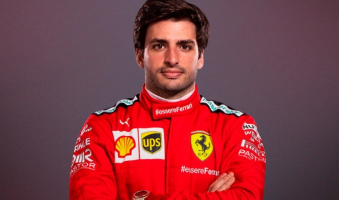 Carlos Sainz, quinto piloto español de la historia de Ferrari/Foto cortesía