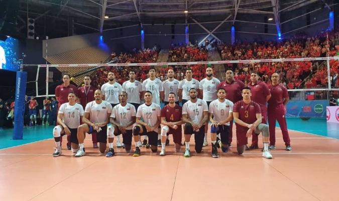 El voleibol masculino consiguió su boleto tras clasificarse en el preolímpico de Chile 2020/Foto a