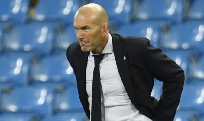 Zinedine Zidane, entrenador del Real Madrid/Foto cortesía