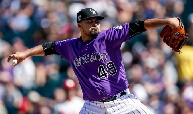 El lanzador titular de los Rockies de Colorado/Foto cortesía