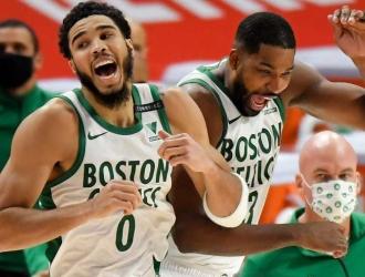 Los Celtics consiguieron su segunda victoria consecutiva/Foto cortesía
