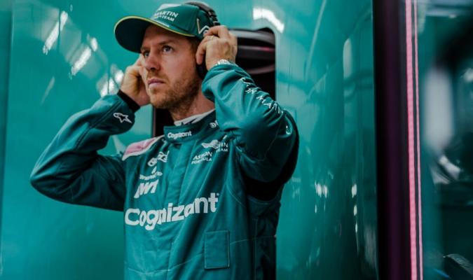 Vettel que había acabado con el decimoctavo mejor tiempo/Foto cortesía
