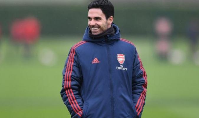 El español Mikel Arteta, entrenador del Arsenal/Foto cortesía