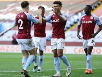 La vitoria asienta al Aston Villa en el ecuador de la tabla