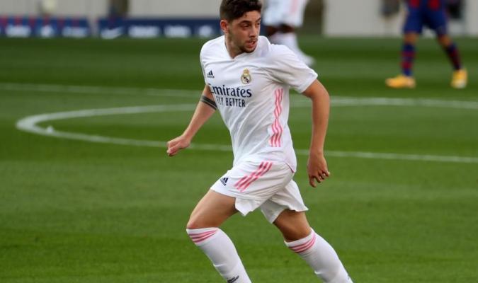 El centrocampista uruguayo Fede Valverde/Foto cortesía