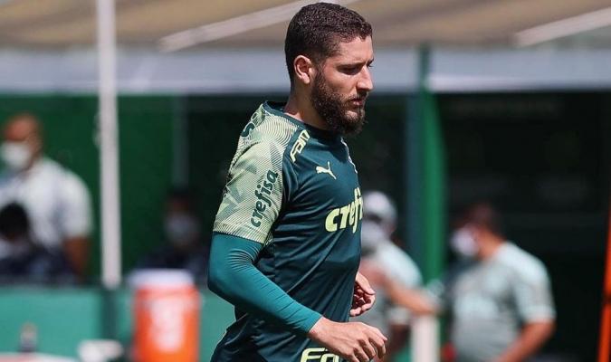 Zé Rafael le da una pieza vital en el mediocampo a Ferreira| @SEPalmeiras