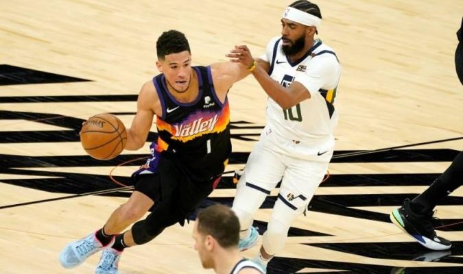 La victoria, séptima consecutiva de los Suns (36-14), los deja líderes destacados en la División