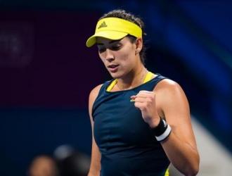 La tenista decidió abandonar el partido y cuidar una lesión de mayor magnitud / Foto cortesía