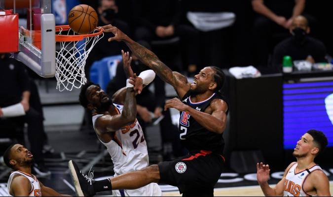 Clippers le rompen la racha de siete triunfos consecutivos a los Suns / foto cortesía