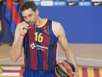 El pívot Pau Gasol se ha estrenado con la camiseta del Barcelona/Foto cortesía
