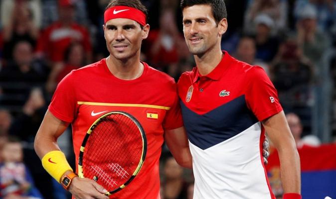 Ambos tenistas vencieron a sus respectivos rivales y se clasificaron a la siguiente ronda sin proble