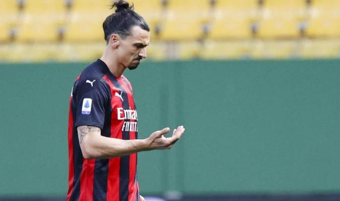 Ibrahimovic que estaba en el banquillo recibió varios insultos/Foto cortesía