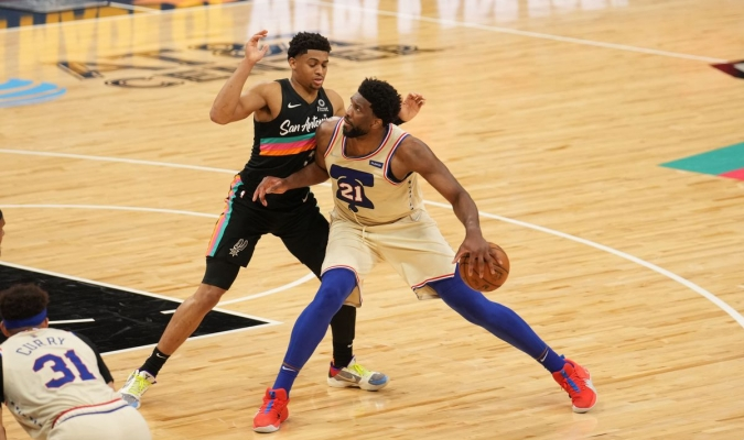 La victoria fue la cuarta consecutiva de los Sixers (43-21) / foto cortesía