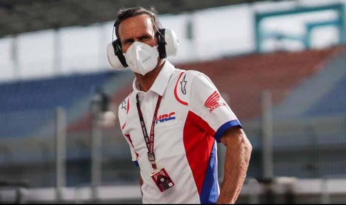 Alberto Puig se recupera de una serie de problemas físicos que le impiden viajar / foto cortesía