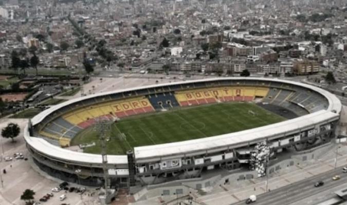 El Campín quedó inhabilitado para duelos internacionales  ARCHIVO
