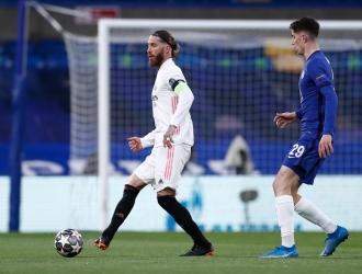 Ramos no se mostró al tope de sus condiciones| @RealMadrid