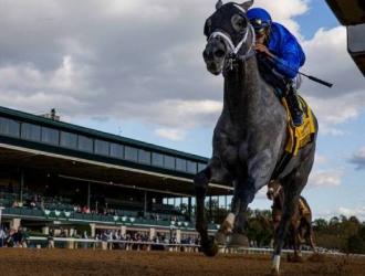Medina Spirit con el camino libre / Foto: Eclipse Sportswire /