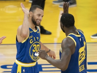 Stephen Curry anotó 36 puntos como líder de los Warriors de Golden State / foto cortesía