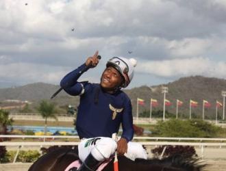 El marabino se desempeñaba como jinete en el hipódromo La Rinconada