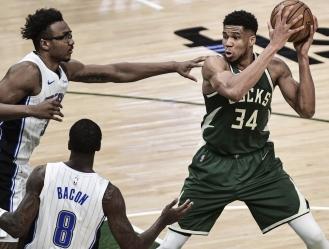 La victoria permitió a los Bucks (44-25) seguir en la lucha por el segundo puesto de la Conferencia