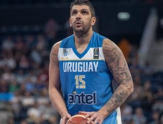 El pívot uruguayo volverá a las canchas en su país natal / Foto cortesía
