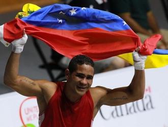 Maestre será el primer boxeador criollo con tres juegos en su carrera competitiva / Prensa COV