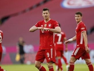 La temporada actual es la tercera en la que Lewandowski llega a los 30 goles / foto cortesía
