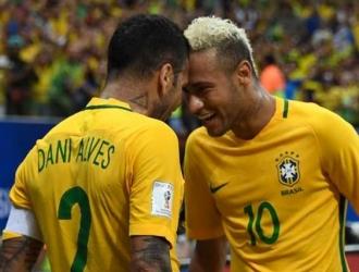 Dani Alves vuelve a la convocatoria brasileña / Foto cortesía