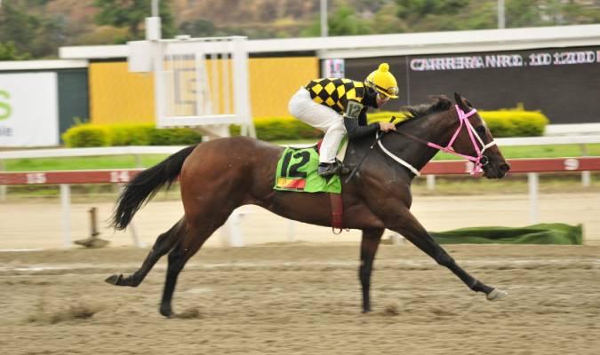 Ventura en su última competencia/JOSÉ ARAY