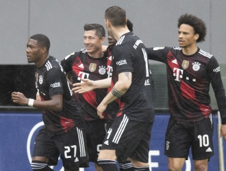 Lewandowski tiene todavía una jornada más para superar el récord de Müller