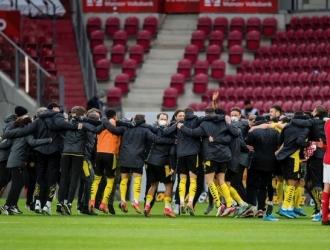 Entre semana celebraron el título de la Copa y ahora el boleto a Champions| @BVB